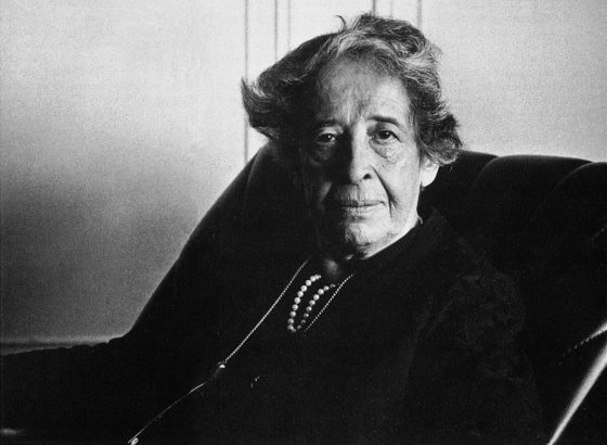 독일 출신의 여성 정치철학자 한나 아렌트(1906-75).