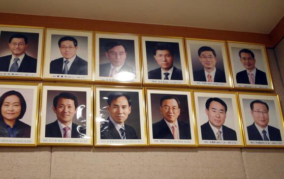 제주지방검찰청 역대 지검장 [조강수 기자]