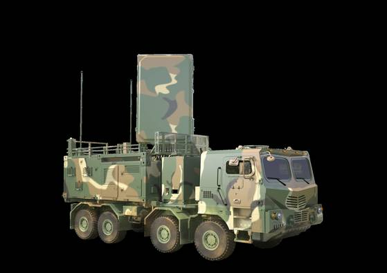 대포병 탐지레이더-II. [자료 방사청]
