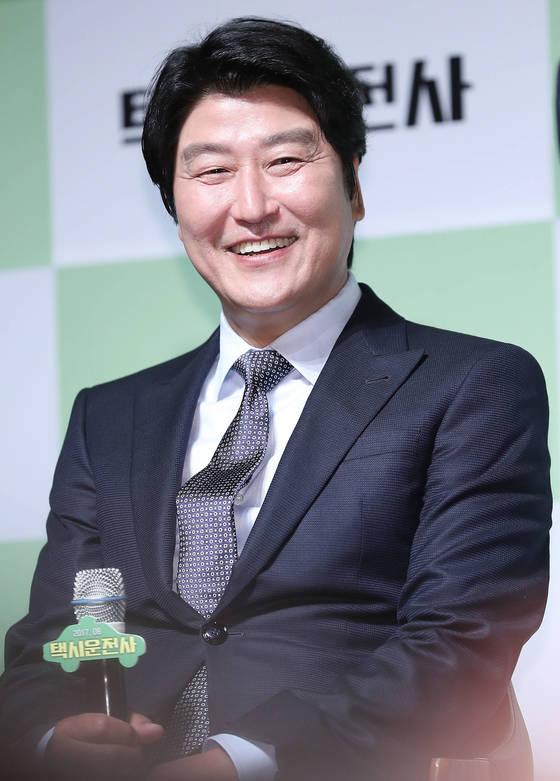 '택시운전사'의 주연을 맡은 배우 송강호