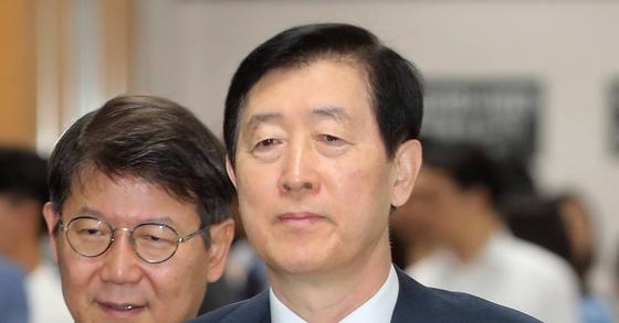 최지성 전 삼성전자 미래전략실장. [연합뉴스]