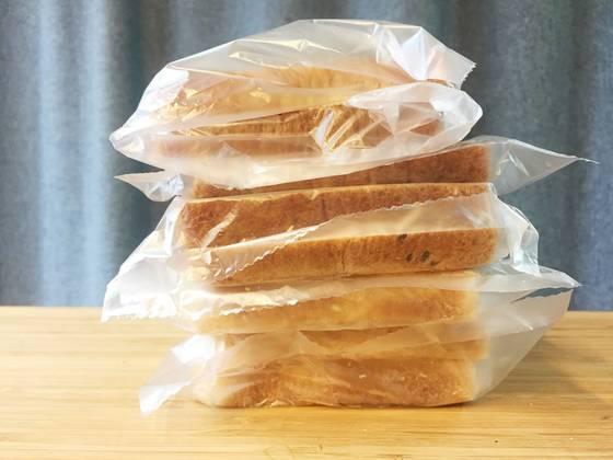 소분해서 포장해놓은 빵. 앞으로 며칠 아침은 끄떡 없겠다.