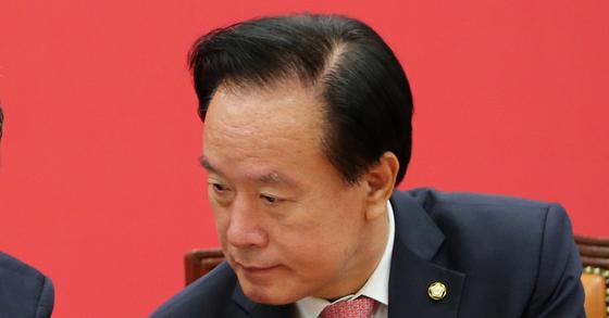이병석 전 새누리당 의원. 조문규 기자