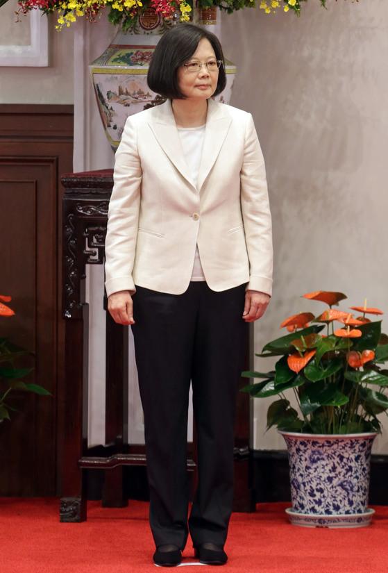차이잉원 대만 총통. [사진기자협회 제공]
