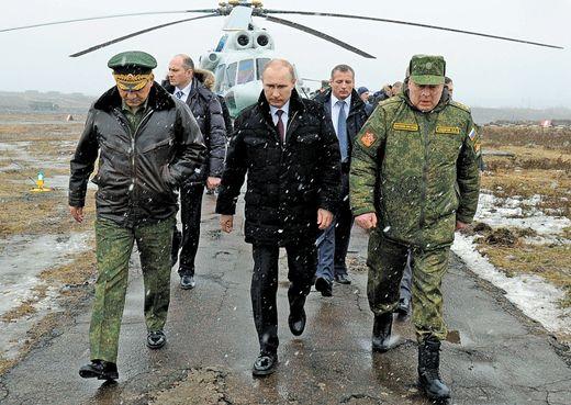 푸틴 러시아 대통령은 공세적인 전략으로 러시아 국익을 우선한다. [사진 AP=연합]