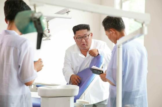 의료기 공장이 마구간 같다...김정은 조직지도부에 버럭