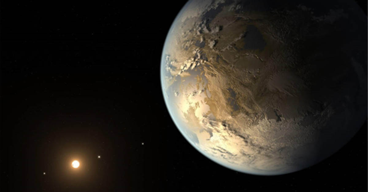 지구 크기의 외계행성 케플러-186f 상상도 [미국항공우주국/제트추진연구소 캘포니아공대=연합뉴스]