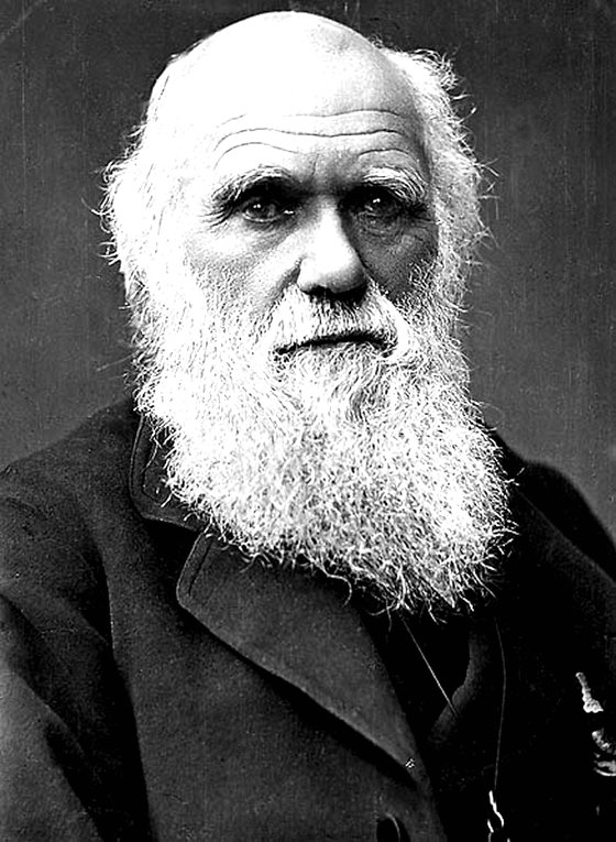 찰스 다윈.