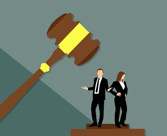 누명을 썼더라도 적극적으로 재판에 임해 판사를 설득하는 것이 현명하다. [사진 pixabay]