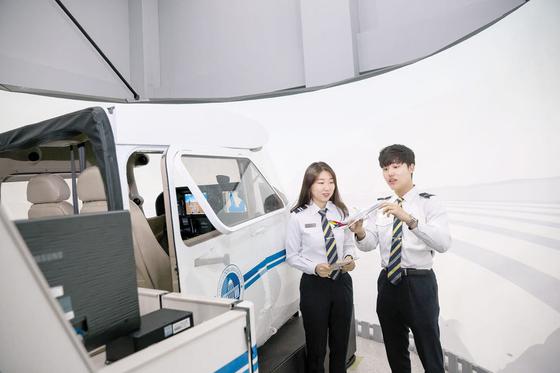 경운대는 항공산업 분야 인력양성 시스템을 갖춘 항공특성화 대학이다. [사진 경운대]