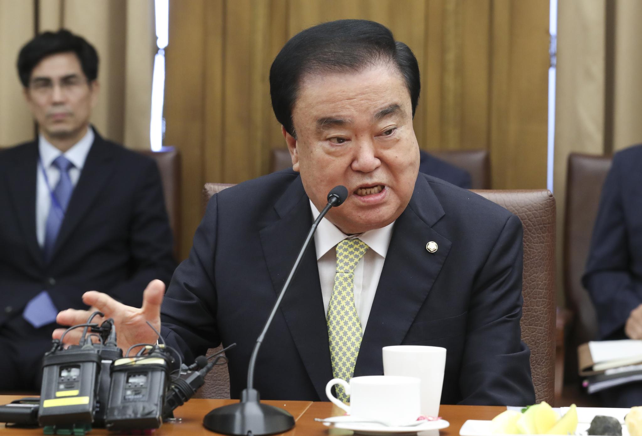 문희상 국회의장. 임현동 기자