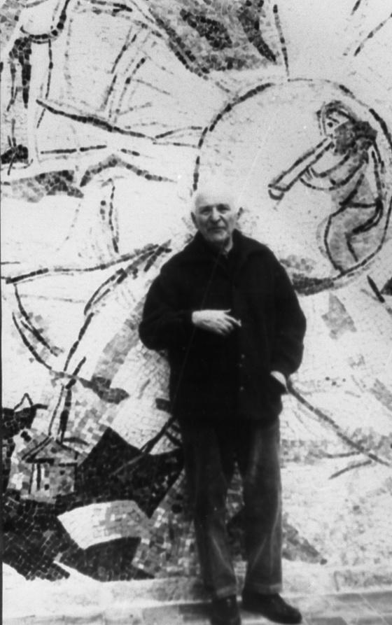 20세기 미술 거장 마르크 샤갈. [중앙포토]
