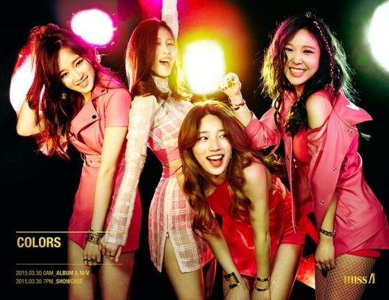MISS A. Photo from JYP Ent.