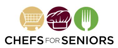 셰프스 포 시니어즈 로고. [사진 http://chefsforseniors.com/]
