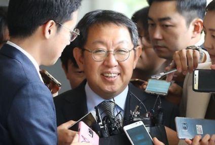 """이석수 전 특별감찰관은 박근혜 정부 당시 국가정보원의 사찰에 대해 """"예상했었다""""고 말했다. [연합뉴스]"""