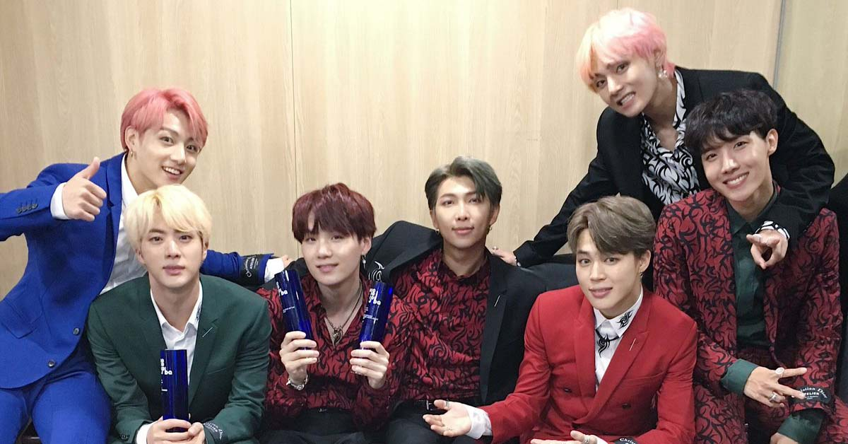 Photo from BTS Twitter