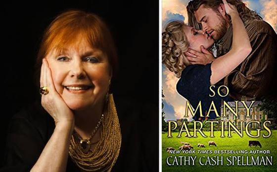 캐시 캐쉬 스펠맨(cathy cash spellman) 작가(좌)가 쓴 '수많은 이별(so many partings)'(우). [사진 (좌)cathycashspellman.com, (우)amazon.com]