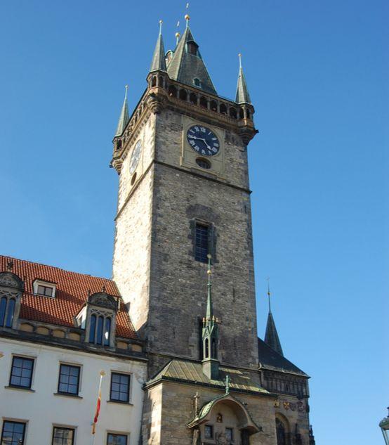 프라하의 시계탑. 20세기 초반 유럽에선 대륙 전역에 철도가 연결되면서 시간을 통일하는 게 중요한 일이었다. [중앙포토]