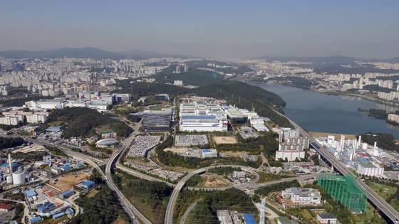 삼성전자 반도체 생산단지 기흥캠퍼스. [삼성전자 제공]