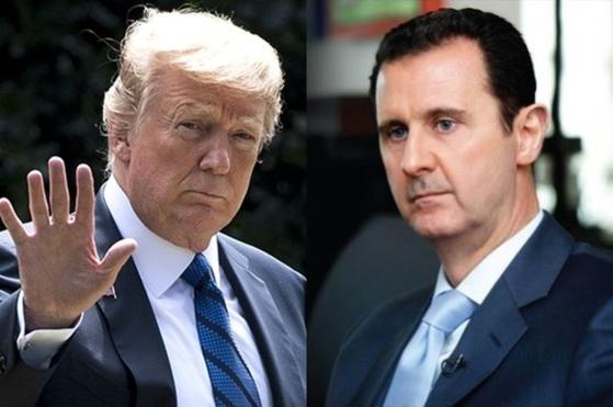 """시리아 정부군이 이들립 주에 대한 군사작전을 감행할 예정인 가운데 3일(현지시간) 트럼프 미국 대통령이 알아사드 시리아 대통령에 """"무모한 공격""""이라고 경고 트윗을 날렸다. [UPI=연합뉴스]"""