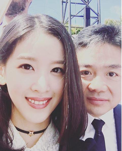 류창둥 징둥닷컴 회장 부부 [인스타그램]