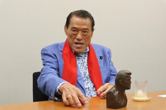 안토니오 이노키 일본 참의원. 정영재 기자