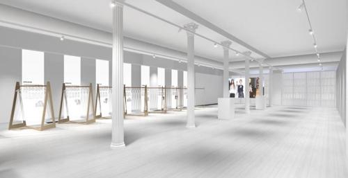 뉴욕 맨해튼 소호 지역에 마련된 패션한류 융복한 쇼케이스 '더 셀렉츠' 내부 모습. [사진=한국콘텐츠진흥원 제공]