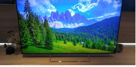 하이얼의 8K TV.