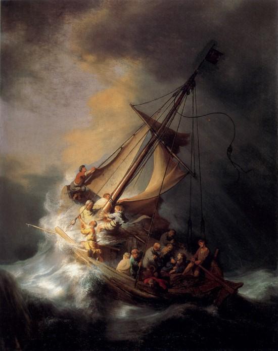 예수는 물 위를 걸었을 뿐 아니라 폭풍우를 잠재우기도 했다. 이런 이적 일화에는 어떤 '비밀 통로'가 숨어 있는 걸까.