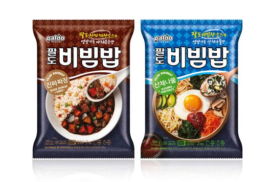 팔도비빔밥 산채나물 ·진짜짜장 2종 출시