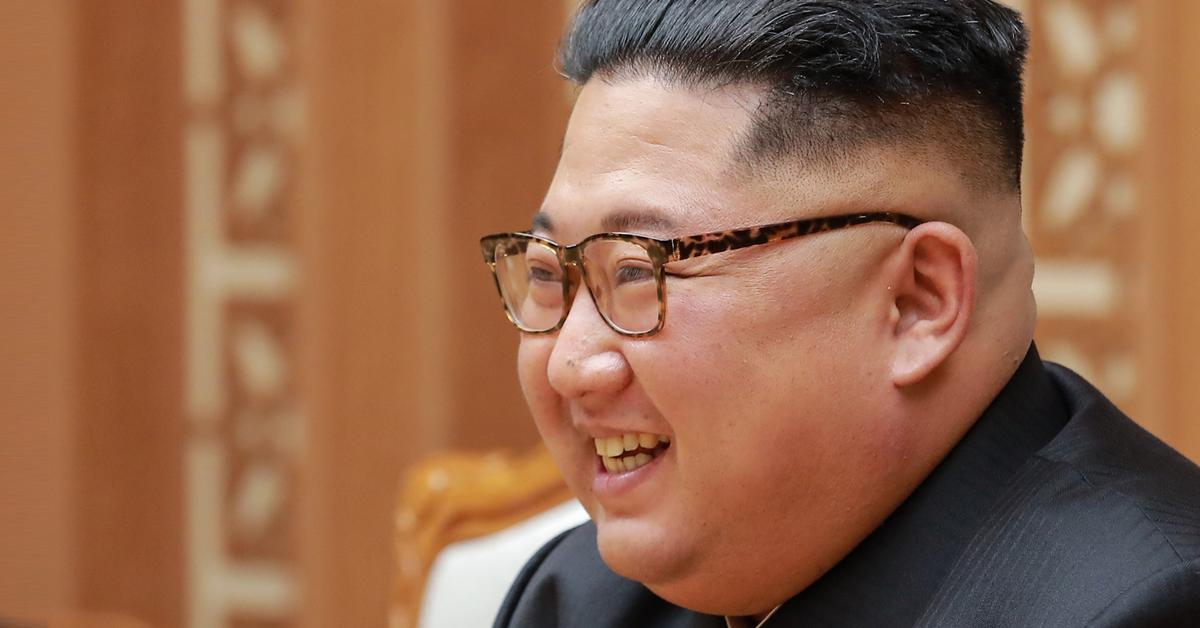 김정은 북한 국무위원장. [사진 청와대]