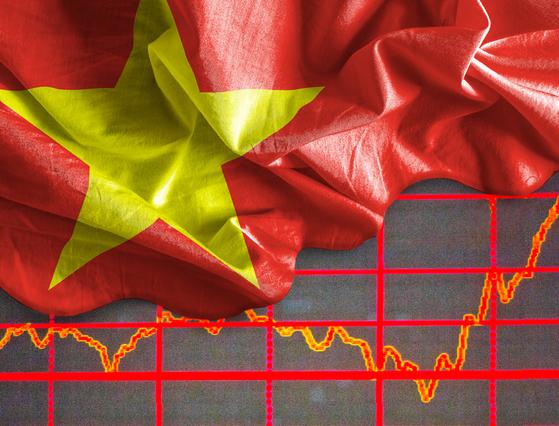 그동안 부진했던 베트남 펀드 수익률이 최근 반등하기 시작했다. [중앙포토]