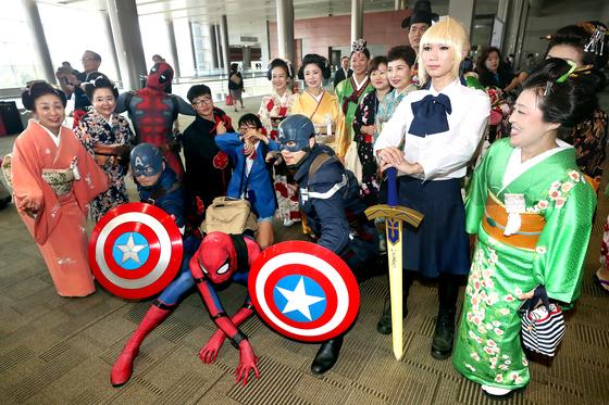 [사진] 축제로 한자리 모인 한·일