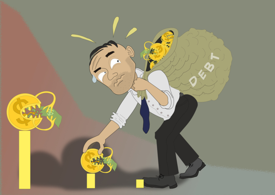 불황에 등골휘는 서민…고금리 카드빚 늘고 빚 못 갚는 중소기업 급증
