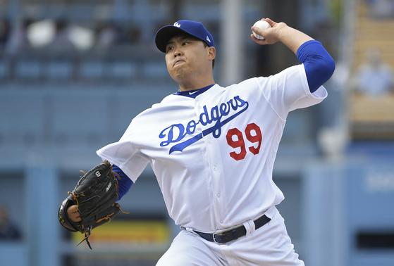 LA 다저스 류현진, 12일 신시내티 상대로 시즌 5승 도전