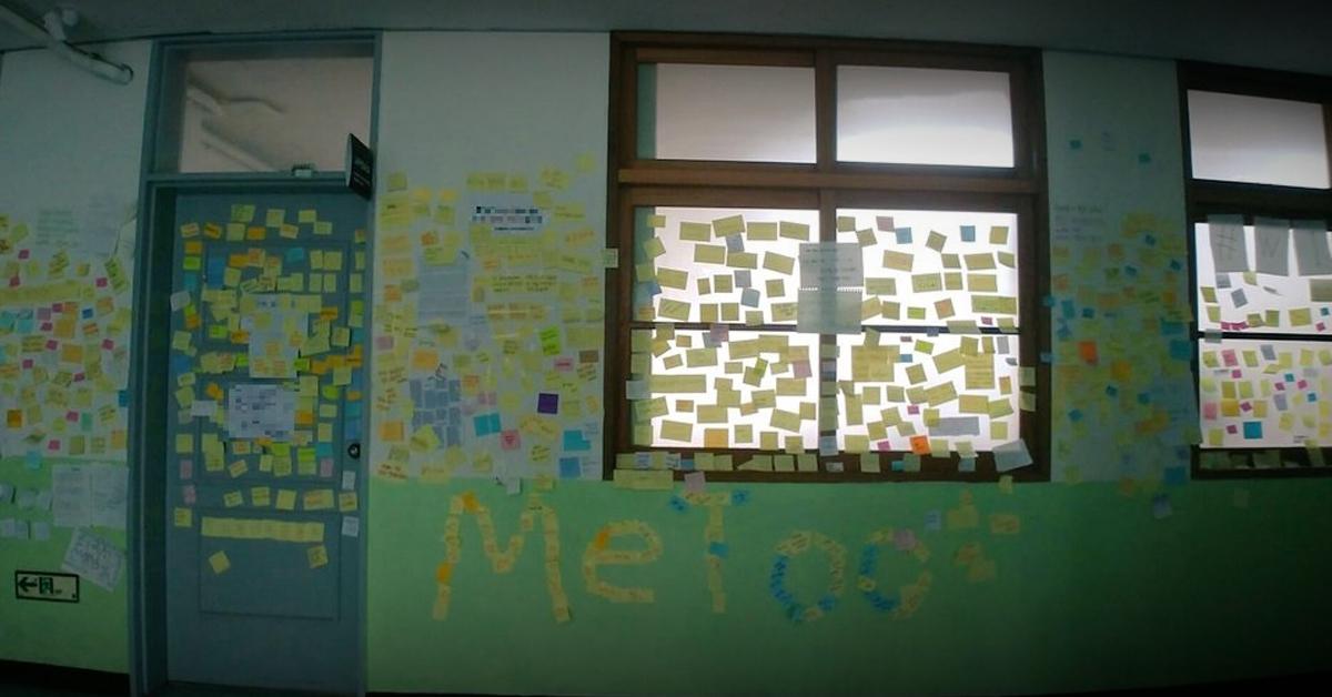 서울 광진구 A중학교 학생들이 소설네트워크서비스(SNS)에 올린 사진. [사진 A중학교 SNS 캡처]