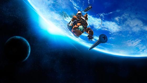 『플라네테스』의 한 장면. 언젠가 우리는 달과 지구를 오가며 살아가게 될 것으로 보인다.