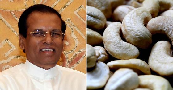 해외판 '땅콩 회항'?…스리랑카 대통령이 캐슈너트에 분노한 이유