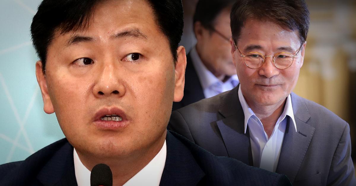 김관영 바른미래당 원내대표(왼쪽 사진)과 장하성 청와대 정책실장. [중앙포토, 연합뉴스]