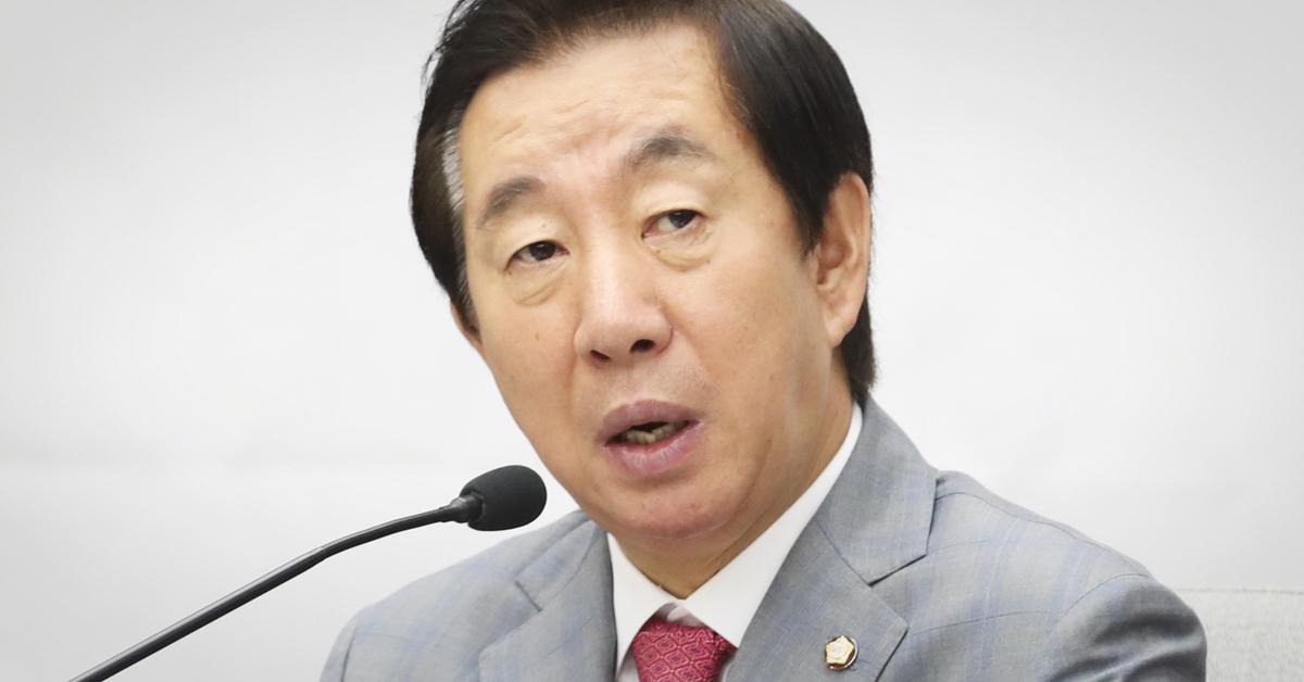 김성태 자유한국당 원내대표.임현동 기자