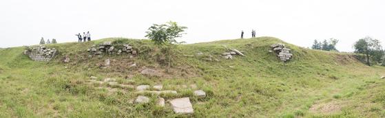 9월 27일부터 남북 공동발굴 조사가 진행될 자리. [사진 문화재청]