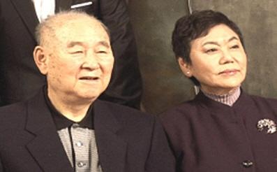 김인태(왼쪽)와 백수련. [사진 MBC]