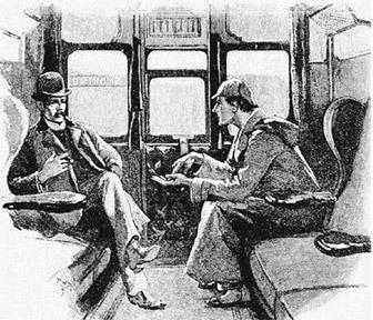 코난 도일은 1891년부터 '스트랜드 매거진'에 연재한 셜록 홈스 시리즈에는 시드니 패짓이 일러스트가 함께하기도 했다.
