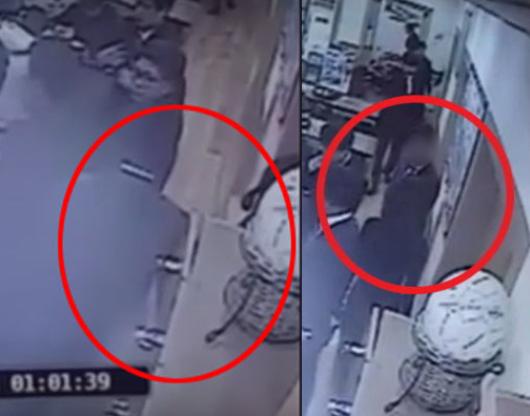 해당 사건 CCTV 영상. [사진 온라인 커뮤니티]
