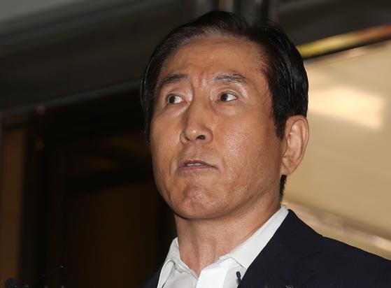 이명박 정부 시절 경찰의 댓글 공작을 지휘한 혐의를 받는 조현오 전 경찰청장. [연합뉴스]