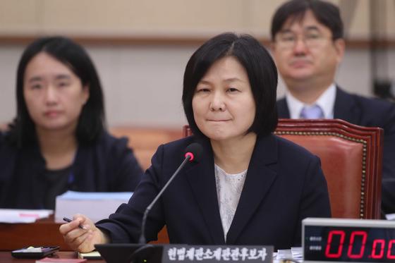 8번 위장전입 의혹 이은애…박지원 순애보 사랑, 합격