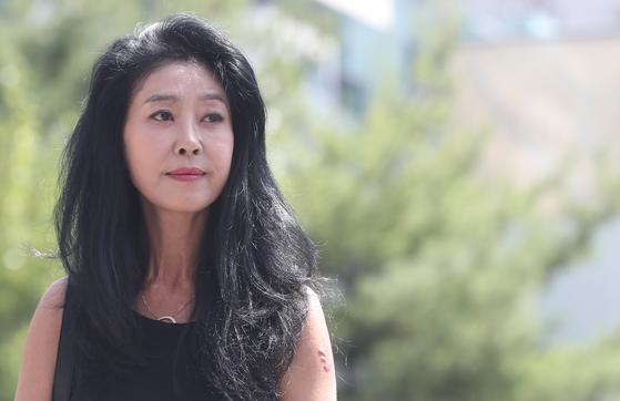 [포토]김부선, '결국 경찰 출석'