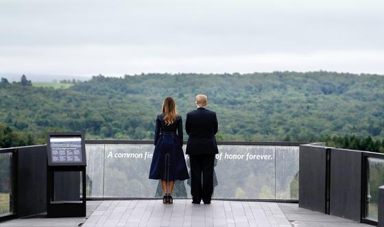 [사진] 트럼프의 9·11 추모