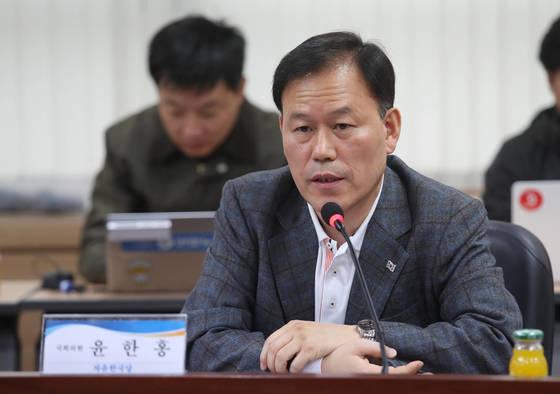 윤한홍 자유한국당 의원. [연합뉴스]