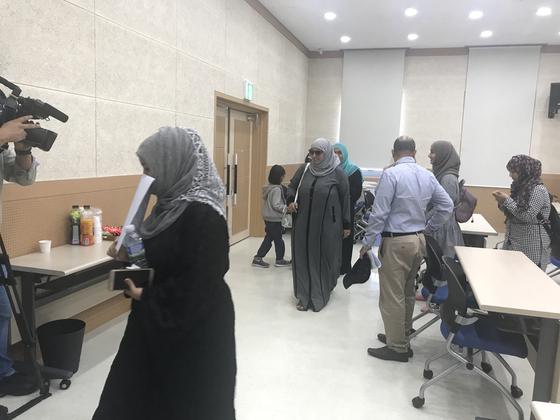 14일 제주출입국·외국인청이 23명의 예멘인에 대해 인도적 체류를 허가 했다. 최충일 기자